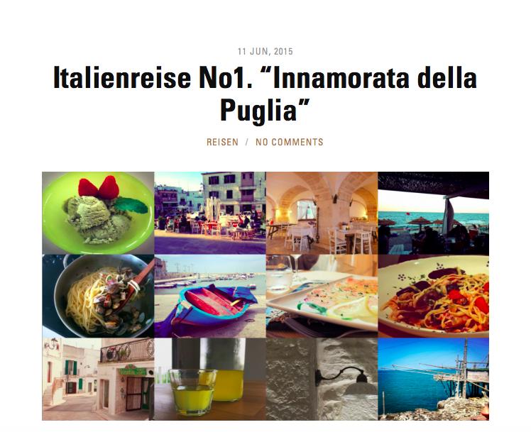Innamorata della Puglia